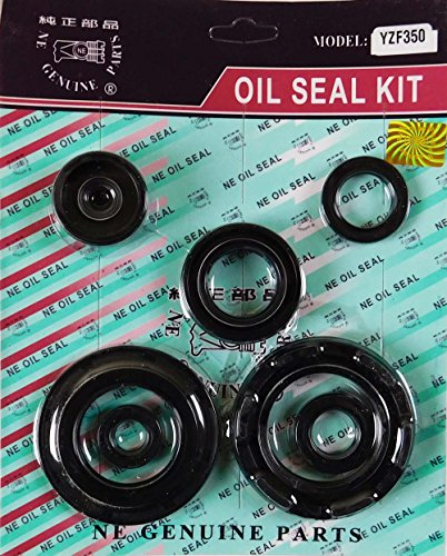NEW 7pc Engine Oil Seal Kit – Fits: Yamaha BANSHEE 350 1987–2006 - Transmission Oil Seal