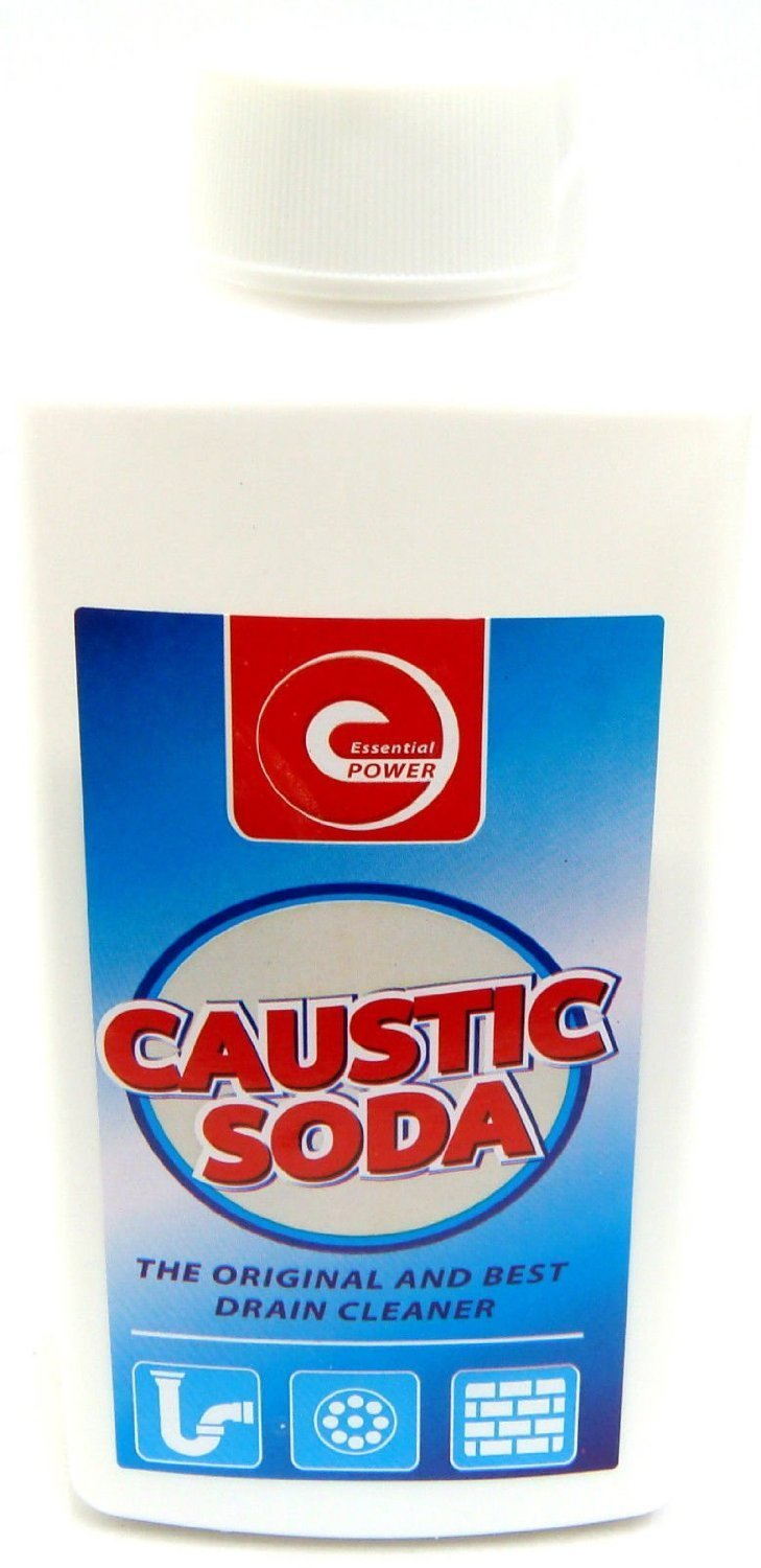 Caustic Soda Powder Sink & Drain Cleaner Drain Unblocker Strong Cleaner 500g New Homecare