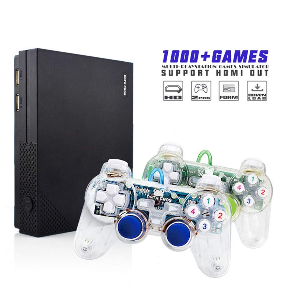 YXJGXX Retro Spielkonsole Y1 Hd Klassische Heimfernseher Ausgang Hdmi Spielekonsole