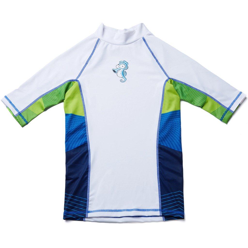 CharmLeaks boy Active wear boy Swimwear Rash Guard Shirt Active Shirt Rashguard Shirt