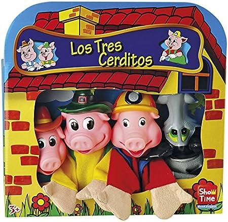 4 Marionetas Los Tres Cerditos: Amazon.es: Juguetes y juegos