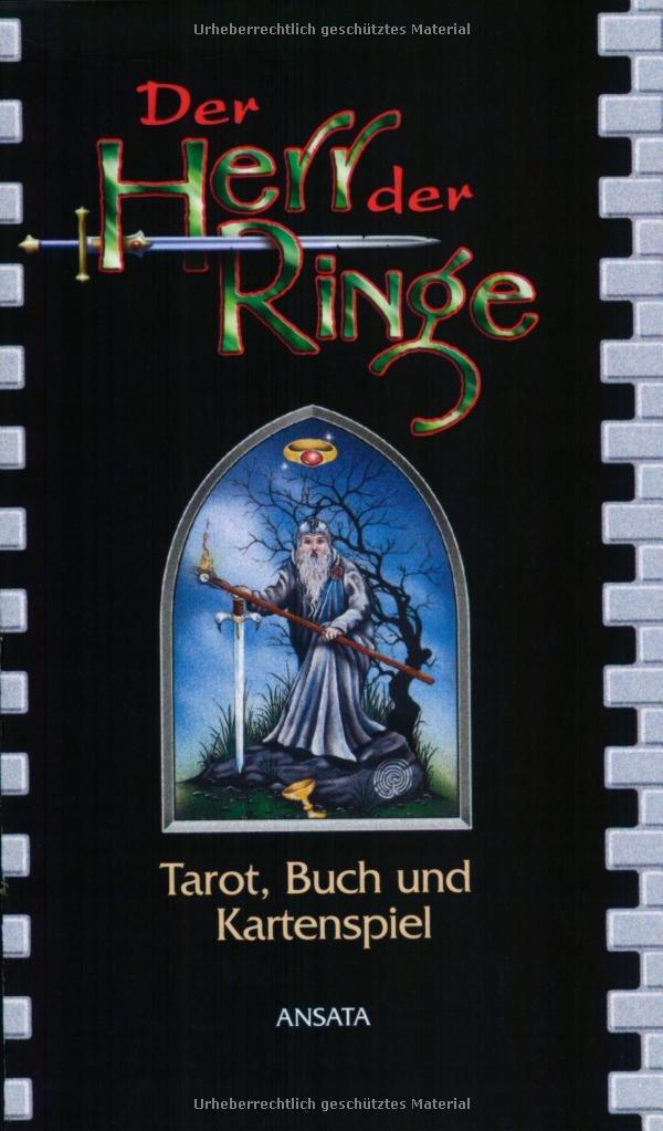 Der Herr der Ringe, m. Tarotkarten