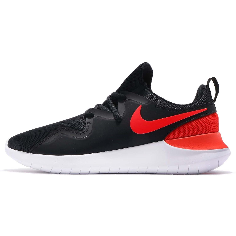 (ナイキ) テッセン メンズ ランニング シューズ Nike Tessen AA2160-004 [並行輸入品] B07CKQ6J3H 27.0 cm BLACK/HABANERO RED-WHITE