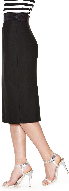 MILLY Womens Italian Cady Pencil Skirt