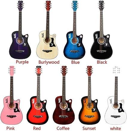 Guitarra Clásica Escuela Ligera De 38 Pulgadas De 6 Cuerdas De La ...