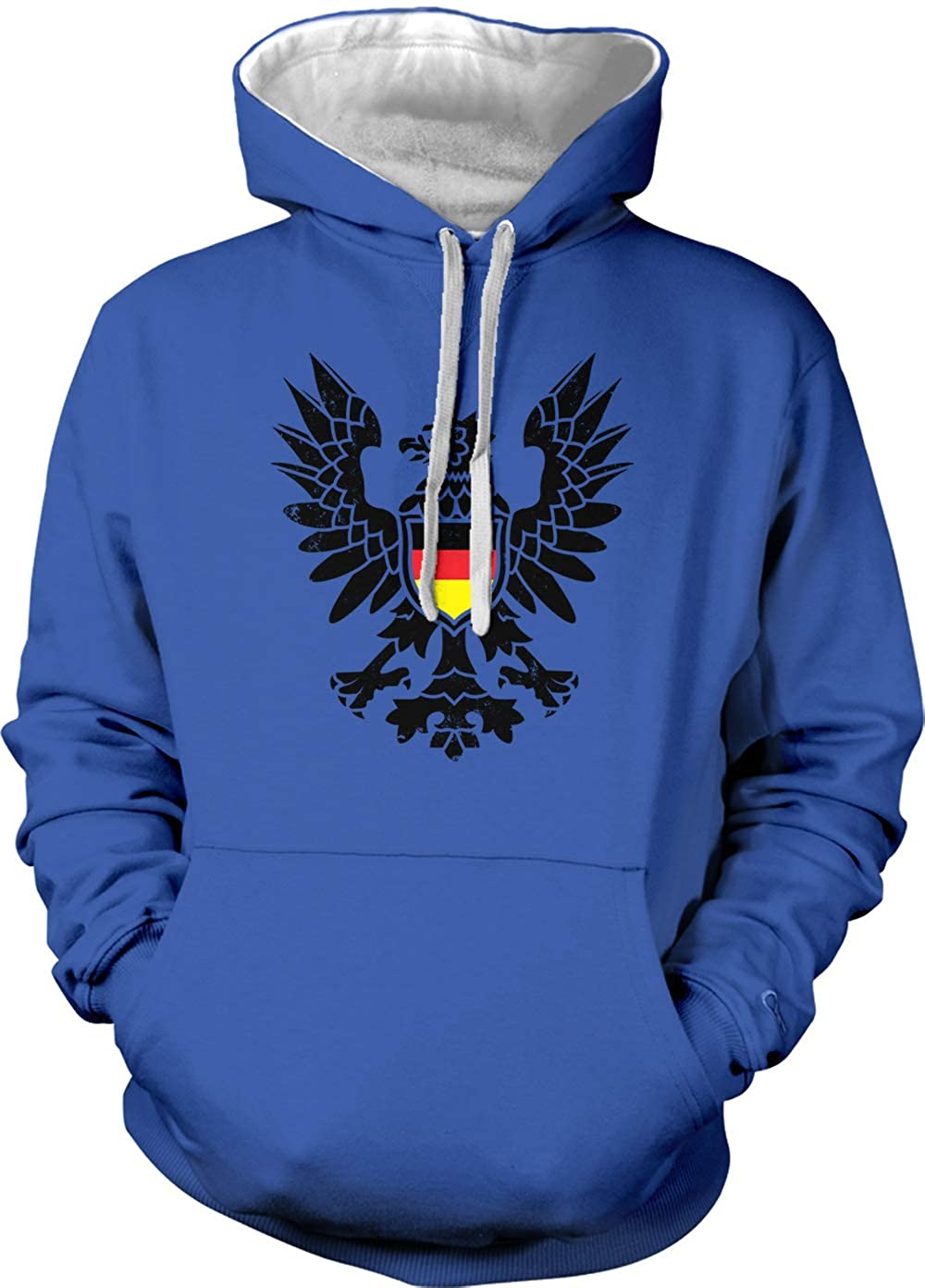 German Black Eagle - Deutschland Crest Unisex Hoodie Sweatshirt