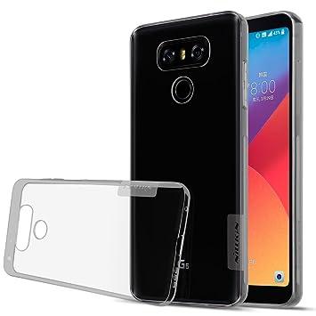 Nillkin - Carcasa de TPU para LG G6, Compatible con LG G6, Color Blanco