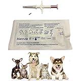 134.2KHZ FDX-B ISO 11784/11785 Animal Microchip Glass Transponder with Syringe for Pet Dog Cat 1.4X8mm Size 20 Packs