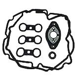 11127552280 11127559699 Camshaft Adjuster Eccentric Shaft Actuator Seal Gasket and 11127559311 11127582245 Engine Valve Cover Gasket Fits BMW E81 E87 E90 E91 E93 E60 E61 E65 E66 X1 X3 X5