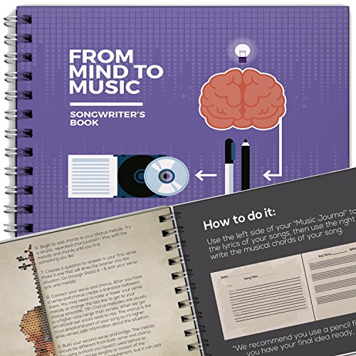 Writer Book for Creative Songwriters, a Journal to Write your Lyric Ideas, Music Notebook for Make Lyrics and Songs!