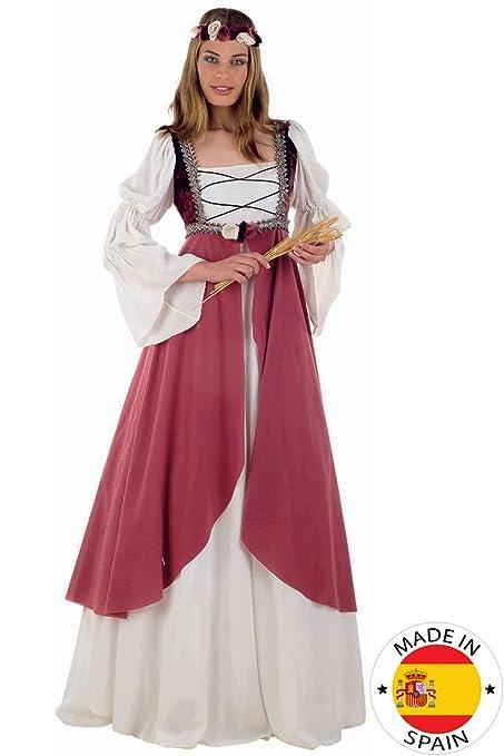 Limit Sport - Disfraz medieval Clarisa, para adultos, talla XXL (MA578)