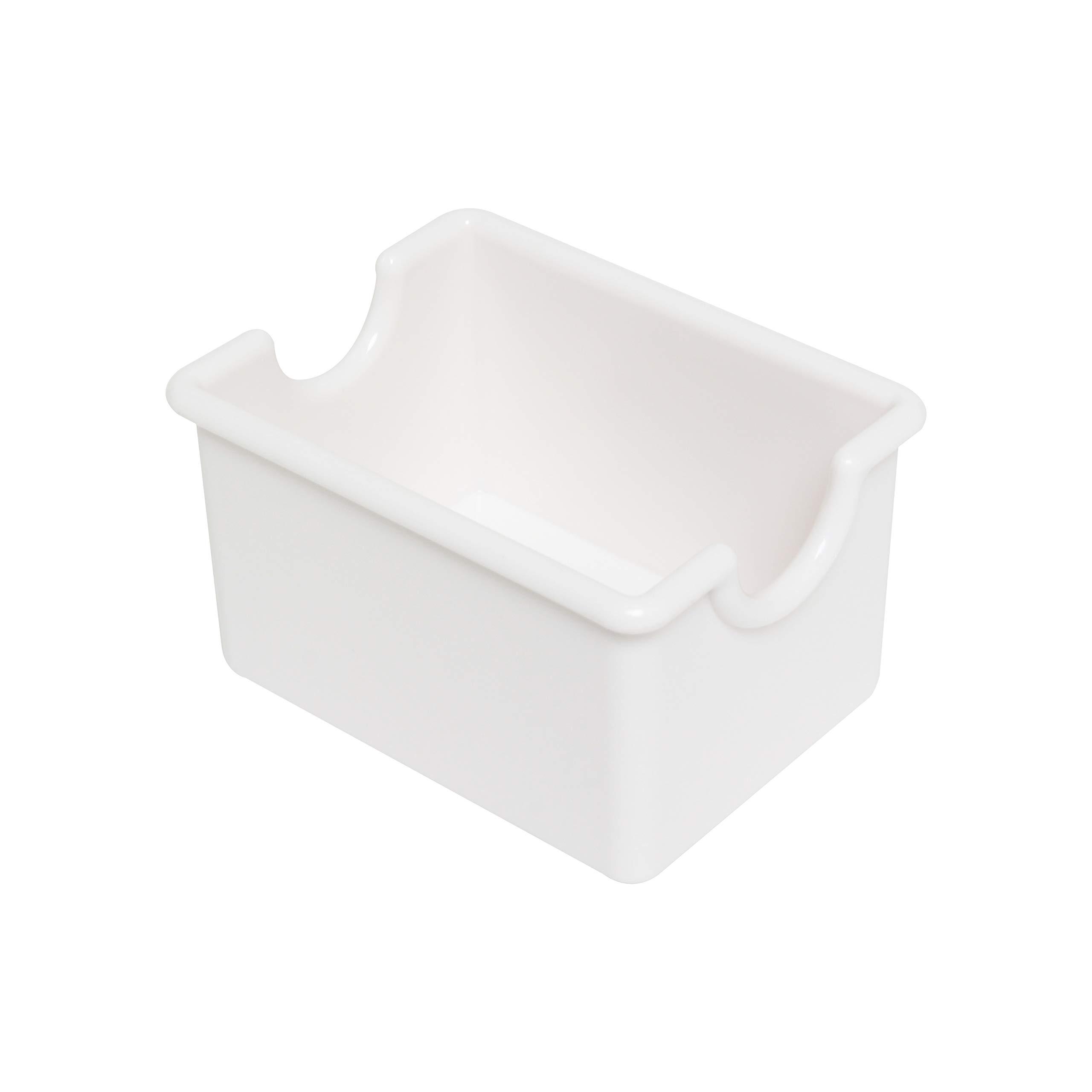 Restaurant Essentials Sugar packet holder, white, comes in dozen