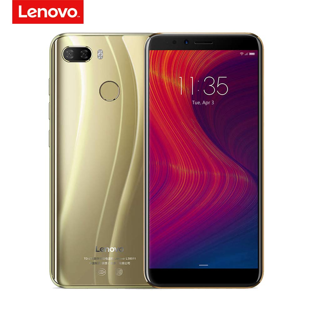 Lenovo K5 Play 4G Telefono Cellulare Face ID 5,7 Pollici HD + 18: 9 Display Snapdragon MSM8937 Octa-core 3 GB + 32 GB 13MP + 2 MP Fotocamera Frontale da 8 Megapixel 3000 MAh