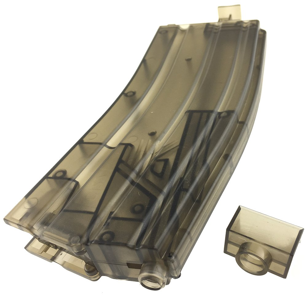 SportPro Army Force 470 Round BB XL Speedloader Magazine Loader for AEG GBB Airsoft – Transparent