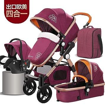 1985deeba51b Amazon.com : Luxury Baby Stroller 3 in 1 and 4 in 1 high Landscape ...