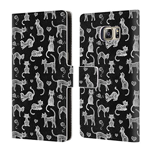 official-micklyn-le-feuvre-teachers-pet-chalkboard-cats-animals-leather-book-wallet-case-cover-for-s