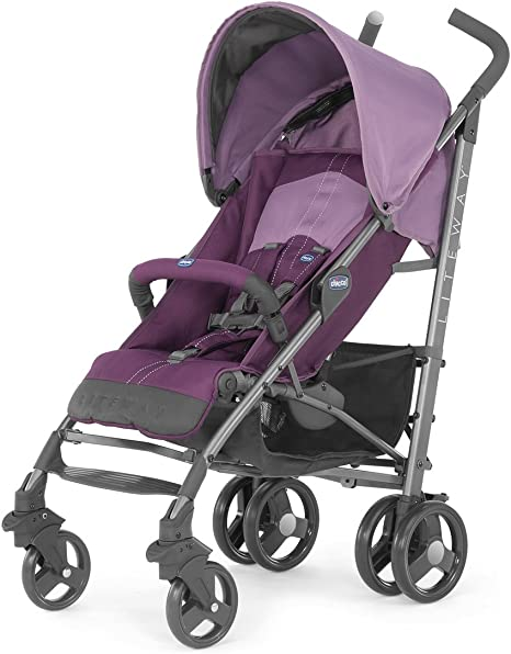 Opinión sobre Chicco Lite Way2 - Silla de paseo ligera y compacta, 7,5 kg, color morado