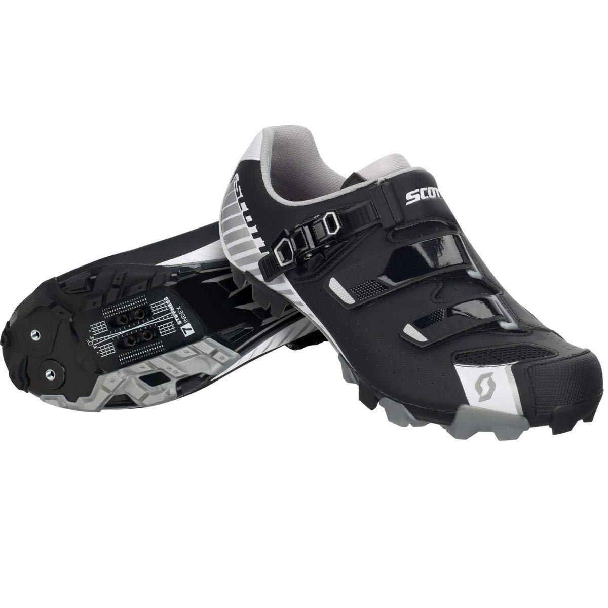スコット2017メンズMTB Proバイク靴 – 251830 48 Matt Black/Gloss White B01LYVUDZ2