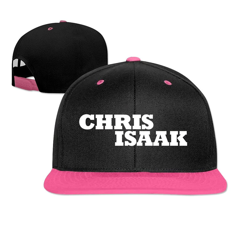 LEU Unisex Chris Isaak Logo Hip Hop Caps Adjustable Sun Hat