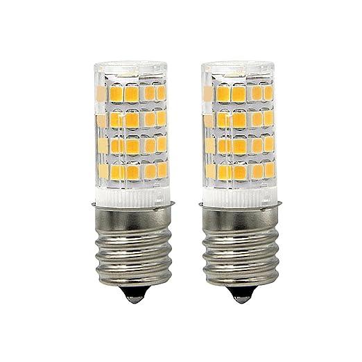 anylight-e17 bombilla LED microondas horno 4 W luz blanca cálida ...