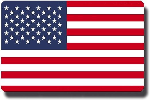 Kühlschrankmagnet Flagge Usa 85x55 Mm Metall Magnet Mit Motiv Länderflagge Amerika Für Kühlschrank Reise Souvenir Küche Haushalt