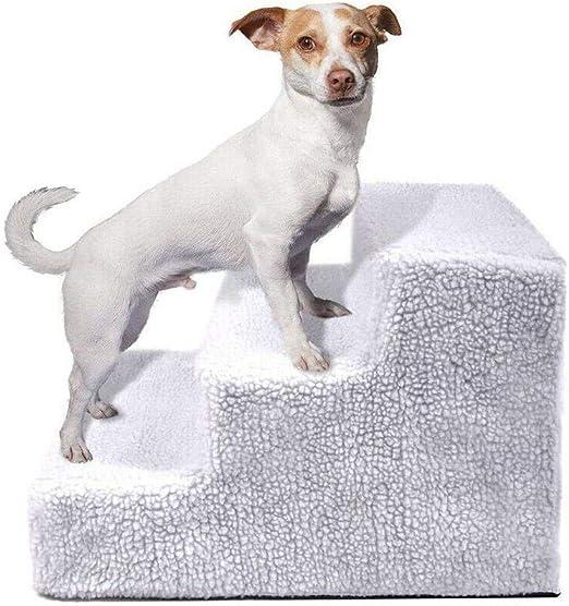Snow Island Escalera de 3 escalones para escaleras de Mascotas, Escalera para Gatos/Cachorros, Deportes interactivos: Amazon.es: Productos para mascotas