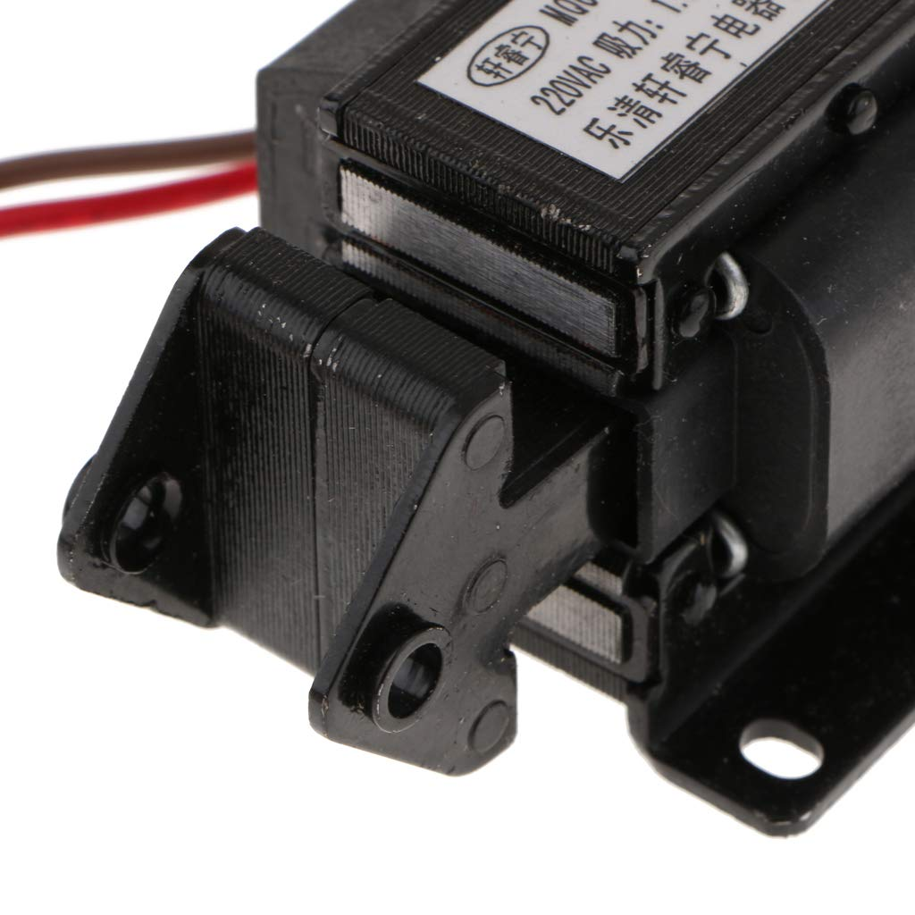SA-2502 220V Electroim/án Electromagn/ético De Tracci/ón AC De Ahorro De Energ/ía Negro Homyl MQ6-1.5N