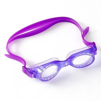 0ed55f674de Speedo niños Boomerang JR gafas de natación (púrpura).: Amazon.es ...