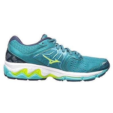 Mizuno Damen Wave Inspire 14 Sport Schuhe Laufschuhe Turnschuhe Sneaker Grün