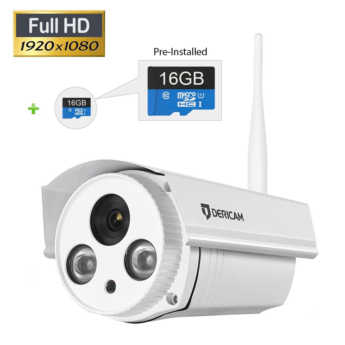 Buy Dericam B2 16GB ProHD 1080P Wireless Outdoor Bullet IP