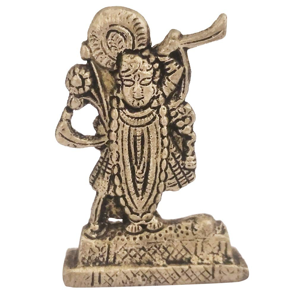Buy Divya Mantra Sri Hindu God Shrinathji Nathdwara Idol Sculpture Statue Murti Puja Pooja Room Meditation Prayer Office Temple Home Decor Gift Collection Item Product Money Good Luck Prosperity Online At Low Prices In India