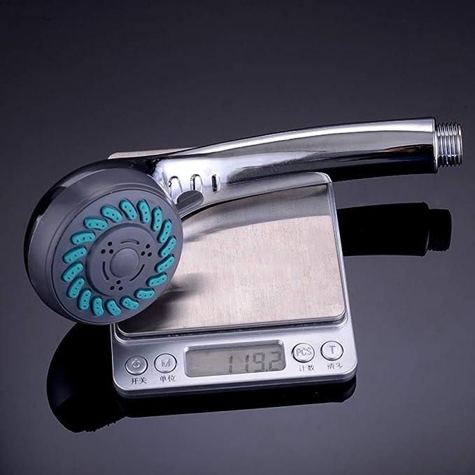 KangHS Ducha de mano/Cabezal de ducha Accesorios para bañeras Abs Plástico Aspersor de presión Presión de ahorro de agua Boquilla de ducha: Amazon.es: Bricolaje y herramientas