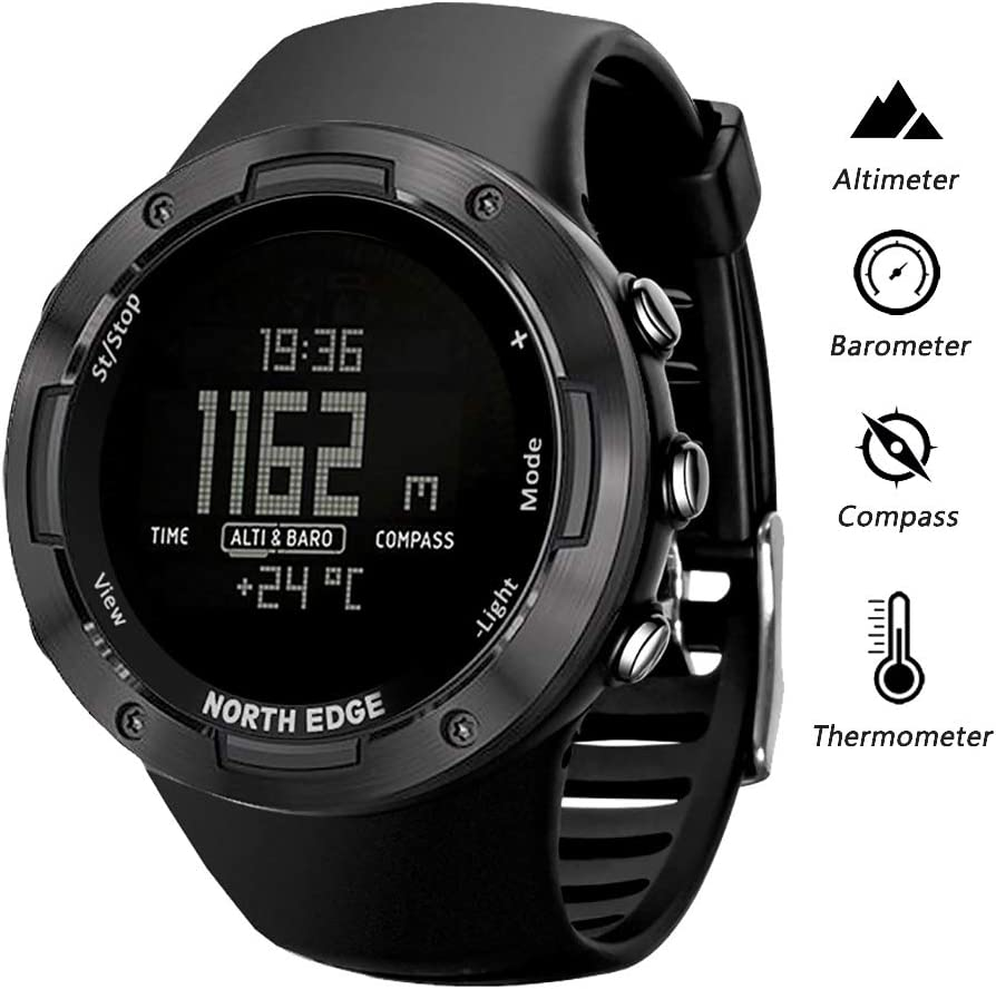 Amazon.com : OOLIFENG Mens Sport Watch with Compass ...