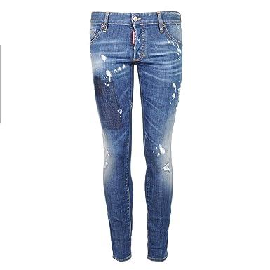 e30dbd5dcc4be Dsquared2 Jeans Clement - S71LB0314-50  Amazon.fr  Vêtements et ...
