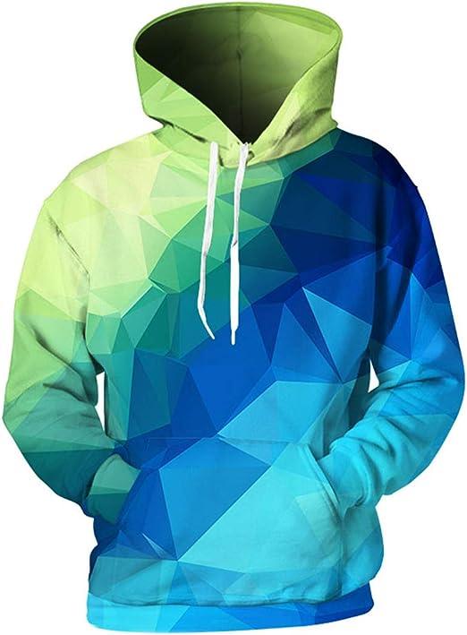HsHdesign Disco Zombie Graphic Mens Hoodies Printed Loose Sweatshirts in 4 Colors