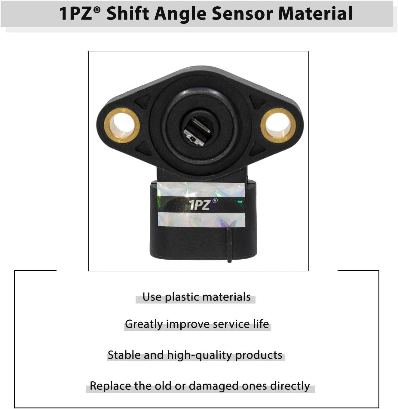 1PZ T35-SA1 Shift Angle Sensor for Honda Recon Rancher Foreman SXS500M2 SXS1000M5D TRX250 TRX350 TRX420 TRX500 Pioneer 500 1000 2002-2019 38800-HP0-A11 38800-HR3-A21