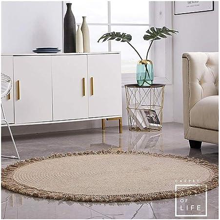 Escalera Pad Área alfombra sala de estar moderna minimalista dormitorio alfombra tejida a mano decoración interior alfombra oficina cocina baño antideslizante alfombra de piso decoración del hogar coj: Amazon.es: Hogar