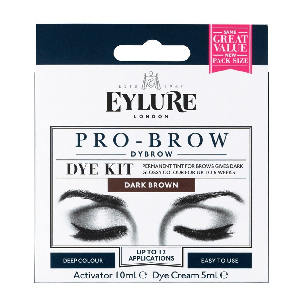 Eylure Dylash - Eyebrow Dye Kit 45 Day - Dark Brown