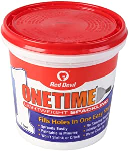 One-Time Spackling Compound 1 Qt