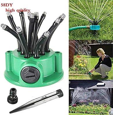 58DY - Aspersor Ajustable para jardín y césped, Sistema de riego, Cabezal de aspersor, Equipo de riego para jardinería: Amazon.es: Jardín