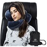 WENDSIM PILLOW----3 In 1 Chin,Neck & Head Supporting Travel Pillow for airplane & Car & train(addtional function Reading Pillow & Office Nap Pillow Patent product)