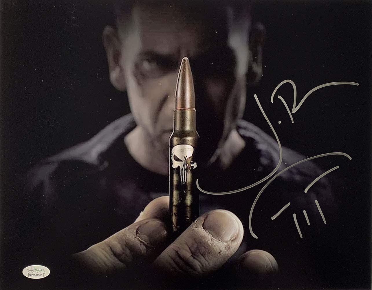 Jon Bernthal Marvel THE PUNISHER Frank Castle Signed 11x17 Photo JSA 143533