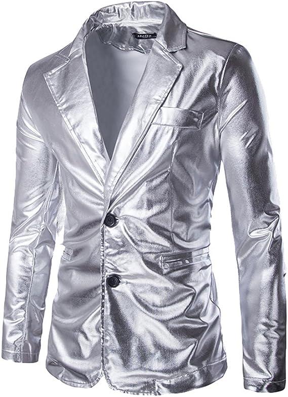 Costume Western Homme Fashion Veste Blazer pour Party Disco
