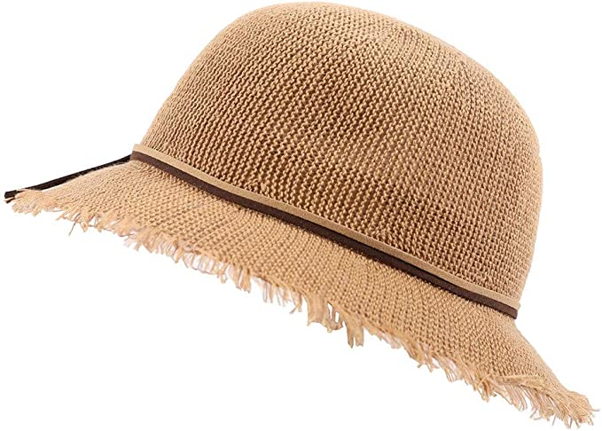 LOPILY Gorra de Hilo Sombrero de Sol Hilado Versión Coreana de la ...