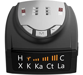 Amazon.com: Radar Detectors for Cars, 360 Degree Detection with Voice Alert, Performance City/Highway Mode Cop Radar Detector: Car Electronics