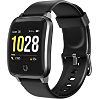 LETSCOM Smart Watch, Fitness Trackers with Heart Rate Monitor Step Calorie Counter Sleep Monitor, IP68 Waterproof…
