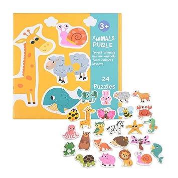 Puzzle Juguetes para niños, imagen y forma juego de puzle de ...