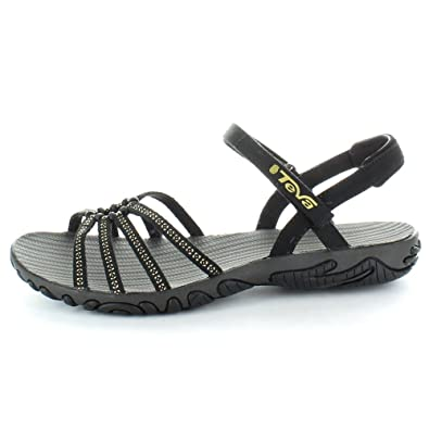 f863e7dc7f102 Teva Womens Ladies 1002346 Kayenta Stud Walking Sandal Flip Flop Black 5