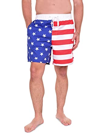 2c8b768d608b Tipsy Elves USA American Flag Shorts - Men s Patriotic Shorts at ...