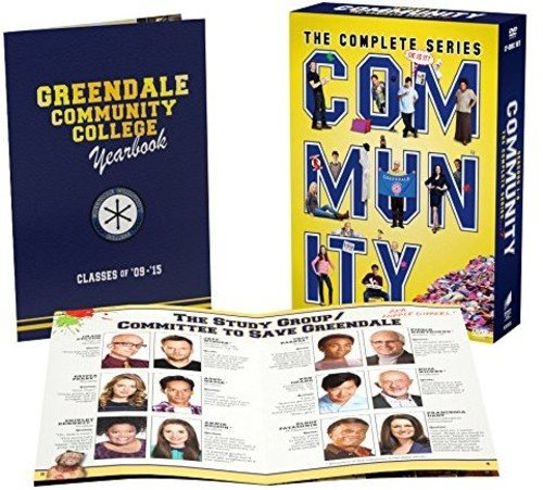 Community - Season 01 / Community - Season 02 / Community - Season 03 / Community - Season 04 / Community - Season 05 / Community - Season 06 - Set by Sony Pictures Home Entertainment